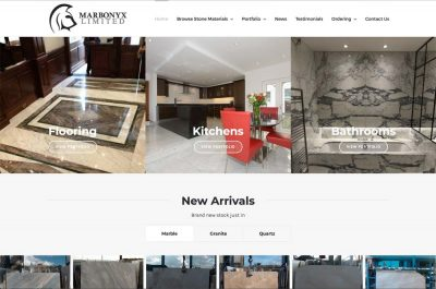 Construction Materials Website