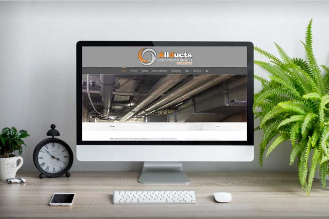 Websites for airconditioning, ductwork, & ventilation companies