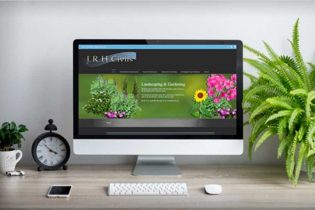 Websites for landscaping companies